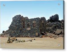 Bushiribana Gold Mill Ruins Of Aruba Acrylic Print by Design Turnpike