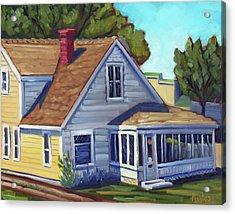 Bushnell House - Eagle Idaho Acrylic Print