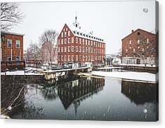 Acrylic Print featuring the photograph Busiel-seeburg Mill by Robert Clifford