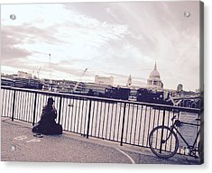 Busking Place Acrylic Print