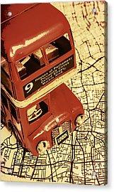 Bussing Britain Acrylic Print