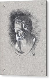 Bust 472 Acrylic Print by Joe Winkler