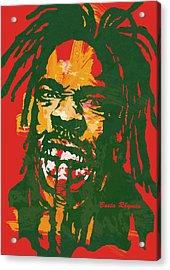 Busta Rhymes Pop Stylised Art Poster Acrylic Print