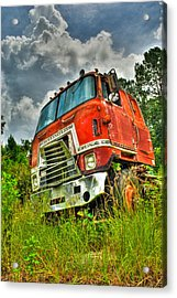 Busted And Rusted Acrylic Print