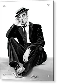 Buster Acrylic Print by Ferrel Cordle