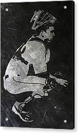 Buster Posey San Francisco Giants Art Acrylic Print