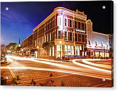 Busy Around Bentonville - Northwest Arkansas Acrylic Print