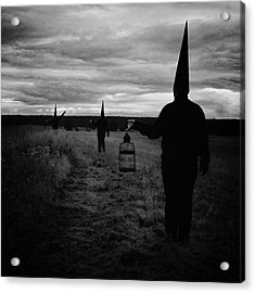But The Horizon Stays Clean Acrylic Print by Art of Invi