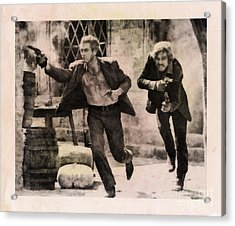 Butch Cassidy And The Sundance Kid, Classic Movie Acrylic Print