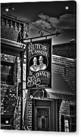 Butch Cassidy And The Sundance Kid Acrylic Print