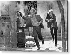 Butch Cassidy And The Sundance Kid - Newman And Redford Acrylic Print