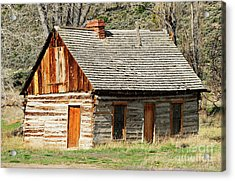Butch Cassidy's Family Homestead Acrylic Print by Dennis Hammer