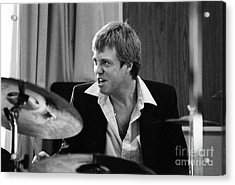 Butch Miles, Jazz Drummer Acrylic Print by The Harrington Collection