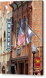 Butte Opera House In Colorado Acrylic Print by Catherine Sherman