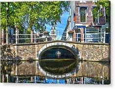 Butter Bridge Delft Acrylic Print