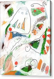 Butterflies Acrylic Print by Aliza Souleyeva-Alexander