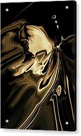 Acrylic Print featuring the digital art Butterfly 2 by Rabi Khan