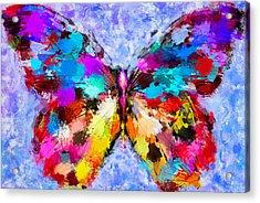 Butterfly 2 Acrylic Print by Yury Malkov