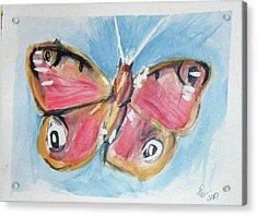 Butterfly 3 Acrylic Print by Loretta Nash