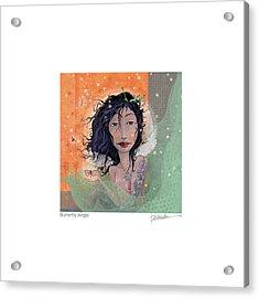 Butterfly Angel 2 Acrylic Print