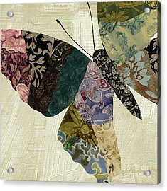 Butterfly Brocade I Acrylic Print