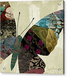 Butterfly Brocade II Acrylic Print by Mindy Sommers