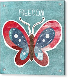 Butterfly Freedom Acrylic Print
