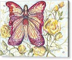 Butterfly Grace Fairy Acrylic Print