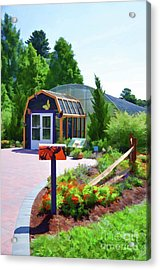 Butterfly House 1 Acrylic Print