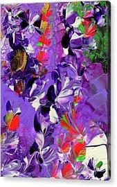 Butterfly Island Treasures Acrylic Print