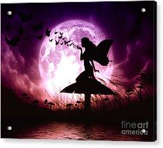 Butterfly Keeper Acrylic Print by Julie Fain