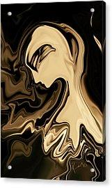 Acrylic Print featuring the digital art Butterfly Princess by Rabi Khan