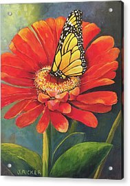 Butterfly Rest Acrylic Print