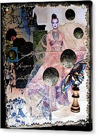 Butterfly Acrylic Print by Sandy McIntire