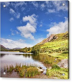 Acrylic Print featuring the photograph Buttermere, English Lake District by Colin and Linda McKie