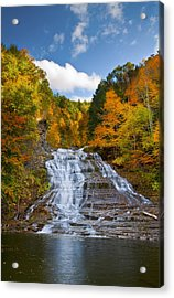 Buttermilk Falls 2 Acrylic Print by Mark Papke