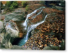 Buttermilk Falls Creek Acrylic Print