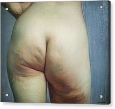 Buttocks And Left Hand On Hip Acrylic Print