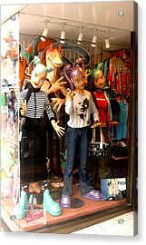 Buy A Teen Party Here Acrylic Print by Jez C Self
