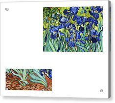 Bw 6 Van Gogh Acrylic Print
