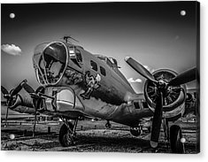 Bw B17 Flying Fortress Acrylic Print