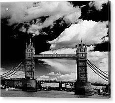 Bw Series Tower Bridge Acrylic Print