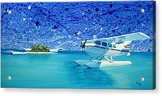 By Air Acrylic Print by Patrick Parker
