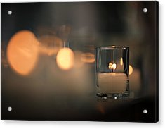 By Candlelight Acrylic Print