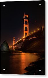 By The Golden Gate Acrylic Print