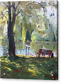 By The Lake  Acrylic Print