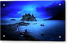 Acrylic Print featuring the photograph By The Light Of The Moon by John Poon