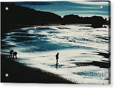 By The Light Of The Silvery Moon Acrylic Print