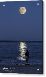 By The Light Of The Supermoon Acrylic Print