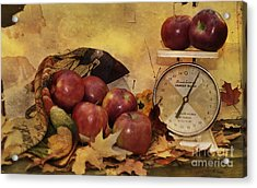 By The Pound Acrylic Print by Kathy Jennings